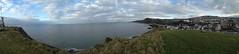 Panorama from Capstone Hill (CoasterMadMatt) Tags: panorama photography photos hill panoramas panoramic capstone ilfracombe iphone panoramics capstonehill iphone4s coastermadmatt coastermadmattphotography