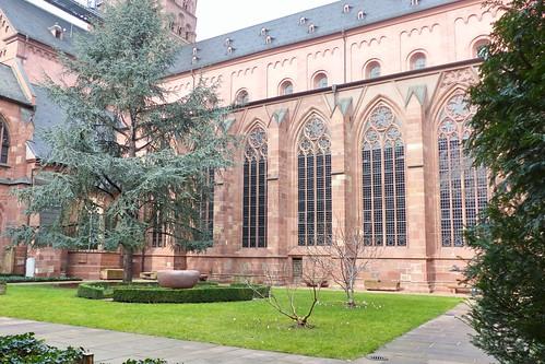 Kreuzgang, Mainzer Dom