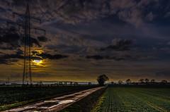 ...... (gofr366) Tags: sunset sun clouds landscape landscapes sonnenuntergang hessen cloudy wolken lane landschaft feldweg weg gudensberg nordhessen niedervorschtz