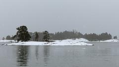 Kopparns recreation area (Inkoo, 20150201) (RainoL) Tags: winter sea snow seascape finland geotagged islands cloudy balticsea u february fin seashore uusimaa 2015 inkoo kopparns 201502 20150201 geo:lat=6004332793 geo:lon=2425271488
