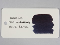 Diamine 150th Anniversary 1864 Blue Black - Word Card