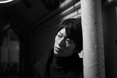 (MT...) Tags: street leica portrait blackandwhite bw me monochrome tokyo candid  asph   summiluxm  f1435mm