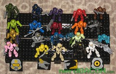 Spartan Collection - Halo - Mega Blocks (NerdBacon) Tags: halo megablocks masterchief spartan spartans halomegablocks
