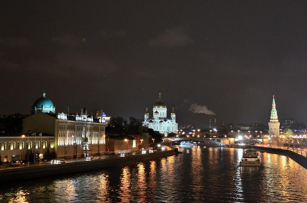 фото: Ночная Москва / Night Moscow