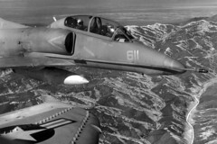 VA-45 TA-4J Skyhawk BuNo 154312, AD-611 (skyhawkpc) Tags: airplane inflight 1982 aircraft aviation navy douglas naval usnavy usn skyhawk nasfallon ta4j 154312 va45blackbirds ad611
