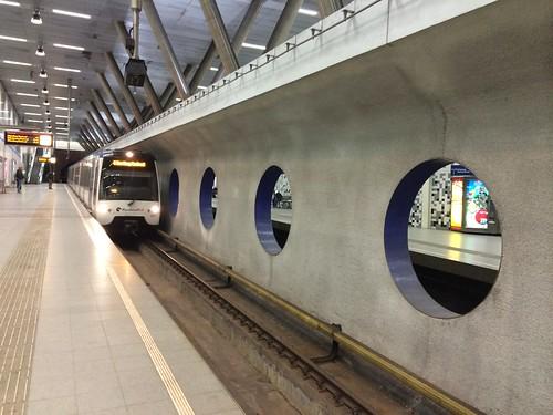 Rotterdam Metrostation Wilhelminaplein