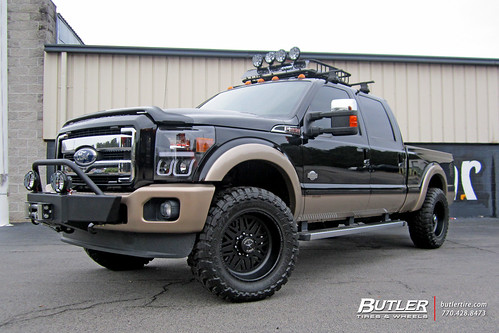 Ford F250 Wheels >> Ford F250 With 20in American Force Titan Ss Wheels A Photo