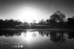 Sefton Park Sunrise (Bosca Fotograf) Tags: park travel trees england lake nature water liverpool canon photography europe peace hill scenic boating dslr tranquil seftonpark parklife allerton merseyside mossley sefton 600d aigburth