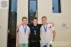 Nathan Corrigan, Thomas Balfour, Lewis Kerrod (scottishswim) Tags: swimming scotland aberdeenshire scottish aberdeen age groups gbr snags2015