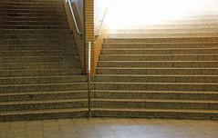 into the dark. into the light. (universaldilletant) Tags: licht frankfurt stairway treppe dunkel