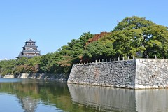 Hiroshima Castle Moat (eaglelam89) Tags: travel japan asia hiroshima 広島