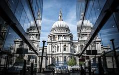 Pray for modern times (Matthieu Manigold) Tags: england london monument saint modern paul for nikon cathedral pray times eglise