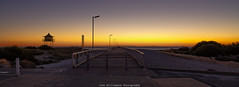 Semaphore Beauty (johnwilliamson4) Tags: sunset beach water landscape jetty australia adelaide southaustralia semaphore watchtower oram