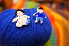 Life is bluE (sifis) Tags: life blue love knit yarn sakalak