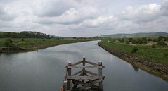 The River Ouse, Panorama (Henry Hemming) Tags: park river way downs south wide national eastsussex lewes riverouse southease