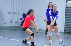 IMG_1559 (SJH Foto) Tags: school girls club high team shot action teens teenager volleyball dig bump tweens