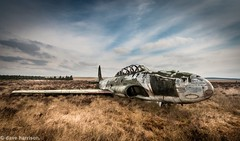 bird of prey (dave_harrison56) Tags: abandoned jet target lockheed firingrange shootingstar
