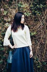 Rena (Mr.Sai) Tags: portrait girl analog 50mm fuji takumar f14 taiwan taipei smc fujica reala 500d cinefilm 8592 st801    ecn2