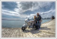 BMW Bike In Toronto (_ Marty Lang _) Tags: toronto 8mm polson bmwmotorcyclebmwmartylangd7200