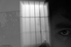 In the Cage (-Andreyes- www.andreabastia-photo.com) Tags: people persona photo andrea bn occhi sguardo biancoenero mente fotografo bastia facebook prigione sbarre paure angoscia prigionieri wwwandreabastiaphotocom
