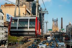 Queensborough Bridge (Bruce Livingston) Tags: nyc newyorkcity tramway rooseveltisland queensboroughbridge roosevelttramway nikon3570mmf28d d800e