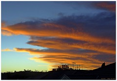 Autumn Sunset Clouds - III (fotograf1v2) Tags: autumn sunset weather clouds skyscape silhouettes australia victoria pakenham luminosity