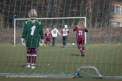 1604_FOOTBALL-35 (JP Korpi-Vartiainen) Tags: game girl sport finland football spring soccer hobby teenager april kuopio peli kevt jalkapallo tytt urheilu huhtikuu nuoret harjoitus pelata juniori nuori teini nuoriso pohjoissavo jalkapalloilija nappulajalkapalloilija younghararstus