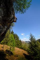 DSC_6253-2 (Fras333) Tags: rock climb countryside perthshire climbing rockclimbing strathyre schist sportclimb