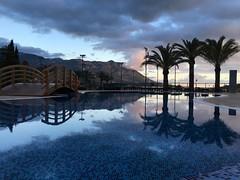 Iberostar Bellevue (Poolside), Budva, Montenegro (clubdooku) Tags: trip travel vacation holiday reflection pool hotel swimmingpool iberostar spa montenegro budva