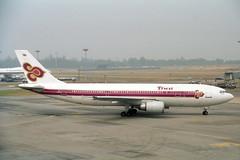 HS-TAE Airbus A.300B4-601 Thai (pslg05896) Tags: singapore thai sin airbus changi wsss hstae a300b