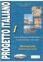 PROGETTO ITALIANO 1 sowniczek, elementy gramatyki (novasarmatia) Tags: 1 italiano progetto ksika ksiki antykwariat elementy sowniczek gramatyki
