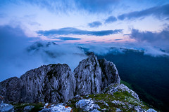 Anboto Alluitzetik (PiTiS ~) Tags: sunset sky mountain clouds landscape atardecer nikon paisaje cielo nubes monte montaa mendiak anboto alluitz
