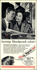 1962 german ad Signal Zahnpasta (Harald Haefker) Tags: classic promotion vintage magazine germany ads print advertising deutschland pub publicidad reclame ad retro anuncio advertisement nostalgia german toothpaste advert 1960s werbung signal publicit magazin 1962 reklame nostalgie deutsch affiche publicitario deutsche historie pubblicit zahnpasta historisch werbe rclame klassische pubblicizzazione