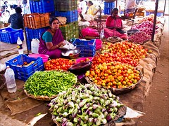 IMG_6317 South India To Thekadi (Dave Curtis) Tags: woman india flower canon markets tamilnadu 2012 g11