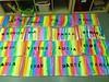 tapa juny (glorietaft) Tags: colors arc tapa sant pintura juny brocha martí creativitat nom arcdesantmartí degradat ratlles anilina estampació horitzontals