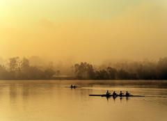 "pangalengan (sandilesmana28) Tags: west water sport fog sunrise java dreamy silhoutte pangalengan ""pentaxflickraward"""
