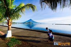 Legazpi Boulevard (ferdzdecena) Tags: bicol albay legazpiboulevard ironwulf ferdzdecena mtmayon mayon