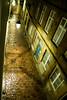 20150810-56_X marks the spot - Street Light Shadows St Malo (gary.hadden) Tags: wet rain night evening brittany streetlights streetscene stmalo xmarksthespot