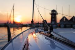 Bakenkop, Denmark (Waterjoe) Tags: sunset sun holiday canon denmark boat sailing scenic sigma baltic bavariayachts canoneos60d