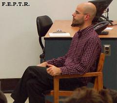 Kvin Gaudreault, animateur et fondateur du FEPTR (forumfeptr) Tags: kevin forum nostalgie tudiant troisrivires uqtr psychologie kvin gaudreault feptr
