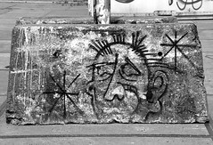 graffiti amsterdam (wojofoto) Tags: blackandwhite holland amsterdam graffiti zwartwit nederland netherland ndsm wolfgangjosten wojofoto