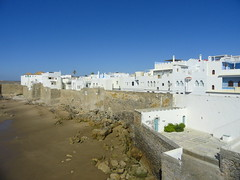 Asilah from the Shore (Jessica Splain) Tags: morocco asilah