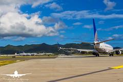 United Airlines B737-700_AS5J1735 (RJJPhotography) Tags: aviation caribbean sxm princessjulianainternationalairport saintmaarten avgeek