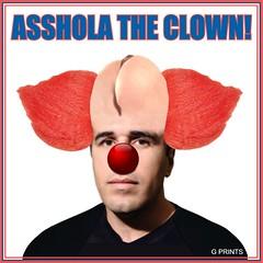 Asshola Main 40 Clown (KnixTix) Tags: ny idiot asshole psycho troll msg madisonsquaregarden fool jackass knicks clownhair clownnose dailynews nyk jamesdolan asshead bozotheclown frankasshola frankisola assholatheclown mediot knixtix