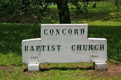 Concord Baptist Church (Carolyn Wright Photography) Tags: church country oldbuildings buenavista countrychurch churchsteeple ruralchurch oldchurches buenavistaalabama