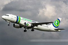 LIL - Airbus A320-214 (F-HBNL) Transavia France (Aro'Passion) Tags: france canon photography airport photos air lsd lil lille takeoff transavia dcollage lfqq lesquin natw 60d aropassion monteinitiale fhbnl variopositif
