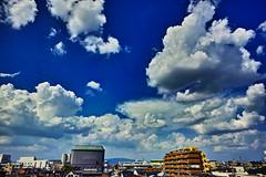 20160819_DP0Q5200 (NAMARA EXPRESS) Tags: landscape sky cloud blue weather street city building deepsky deepblue shine summer fine outdoor color foveonclassicblue toyonaka osaka japan foveon sigma dp0 quattro wide ultrawide superwide namaraexp
