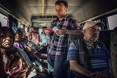 I waited in the right place (Melissa Maples) Tags: beyehir turkey trkiye asia  apple iphone iphone6 cameraphone crowded turks van minibus bus summer