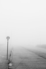 30 (Explored) (PeskyMesky) Tags: 30 aberdeen esplanade fog mist minimum scotland monochrome bw blackandwhite blackwhite canon canoneos500d