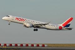 Embraer 190AR MSN254 F-HBLG HOP! for Air France (Goepfert Damien) Tags: paris france damien hop avion airfrance cdg embraer aéroport 190ar goepfert fhblg damiengoepfert msn254